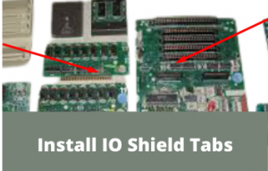 What is an IO shield